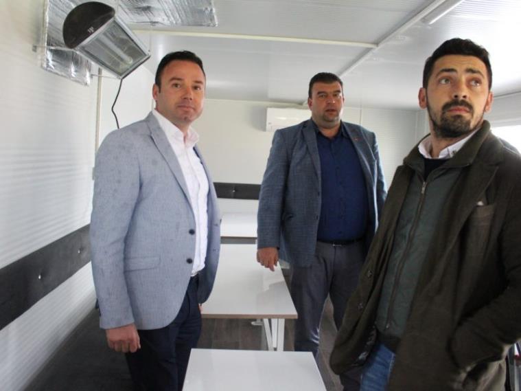Seferihisar Belediyesine Taziye Aracı Hayırlı Uğurlu Olsun